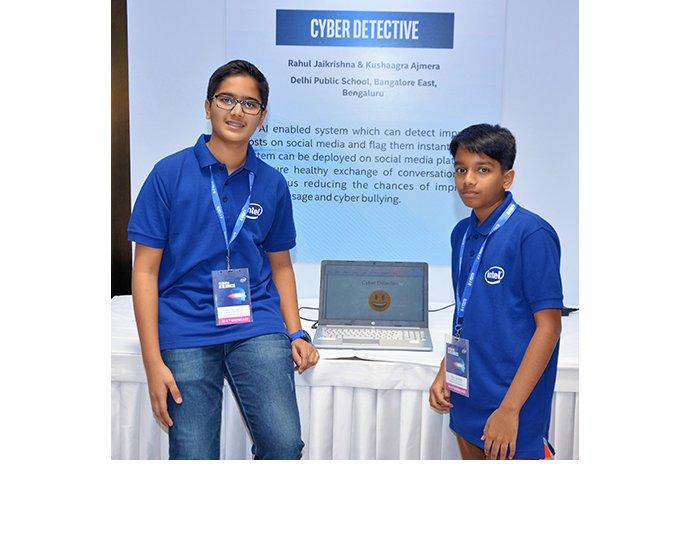 Rahul Jaikrishna and Kushaagra Ajmera put the skills they learne