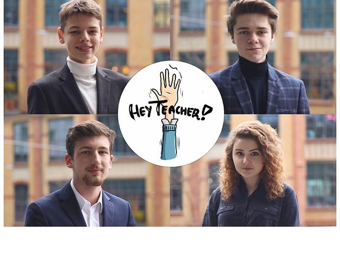 In Poland, four 17-year old students — Jakub Florkowski, Antoni