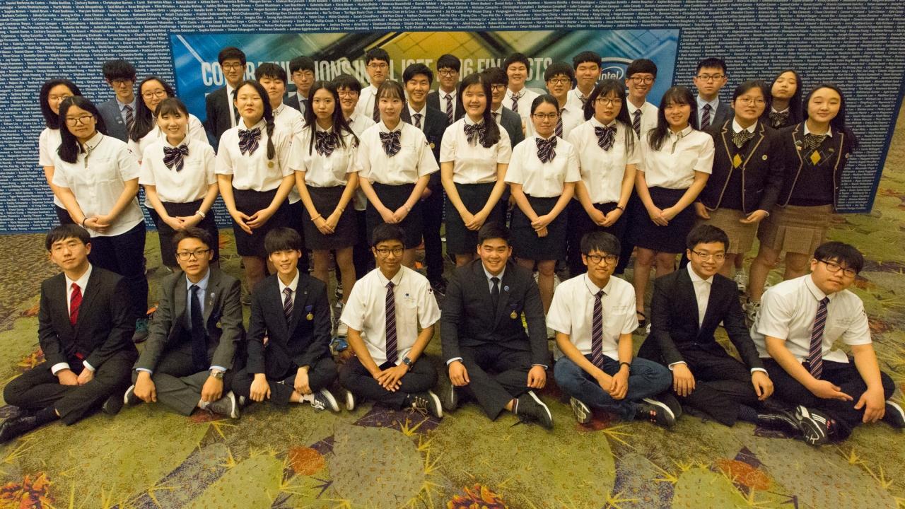2. 인텔 ISEF 2016_한국 학생 대표단