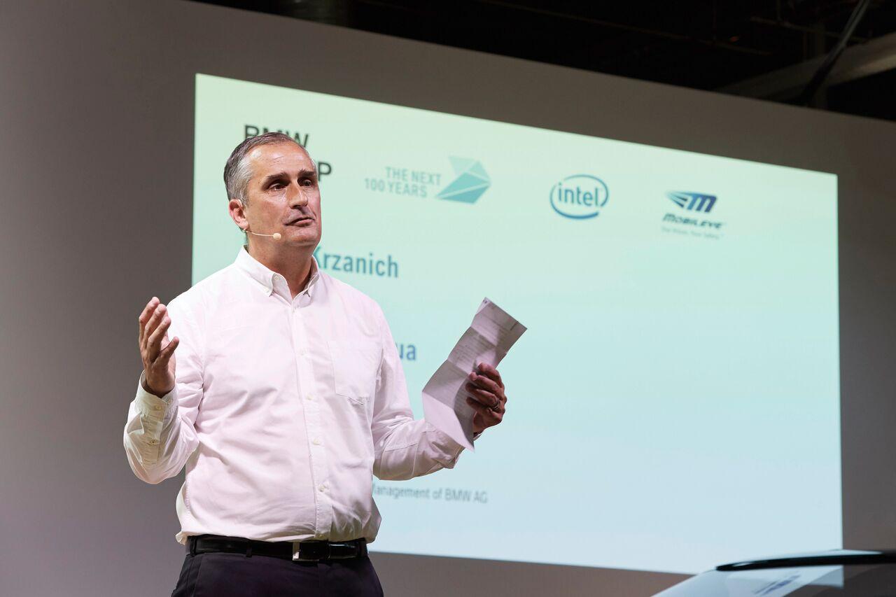인텔 CEO 브라이언 크르자니크