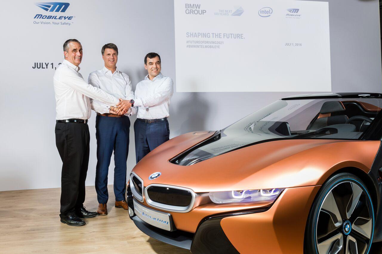 인텔_BMW_모빌아이_CEO_자율주행 협력 발표