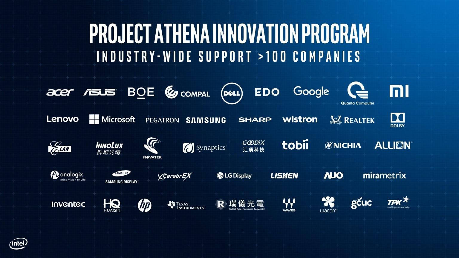 Intel-Project-Athena-Innovation-Partners