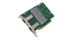 The Intel Ethernet Network Adapter E810-2CQDA2 enables up to 200