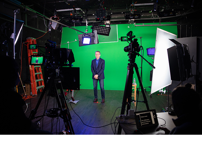 """During recording of the """"Intel Unleashed: Engineering the Futu"""