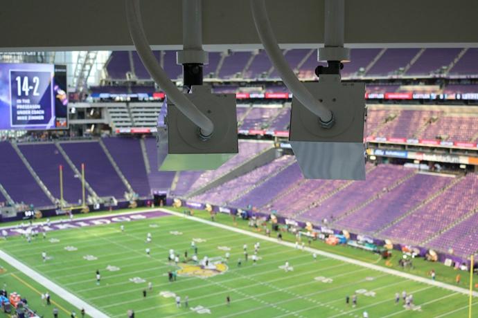 Intel freeD cameras installed in Minnesota Vikings' U.S. Bank St