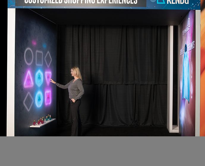 Kendu's Interactive Archway allows retailers to highlight hero