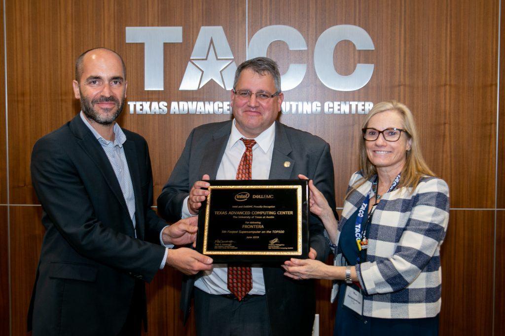 TACC Frontera Dedication
