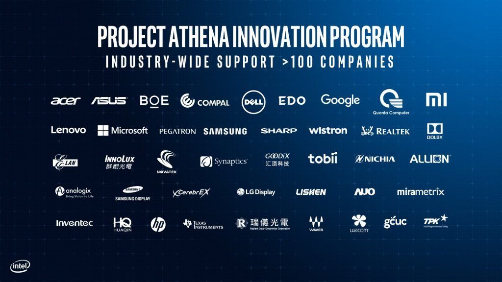 Intel-Project-Athena-Innovation-Partners