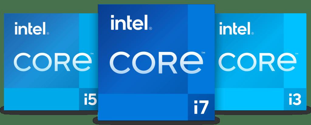 11th Gen Intel Core Badges