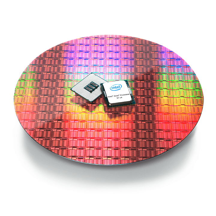 xeon-e7v4-on-wafer-white
