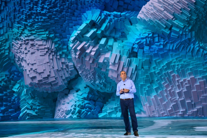 Brian Krzanich, Intel Corporation chief executive officer, offer