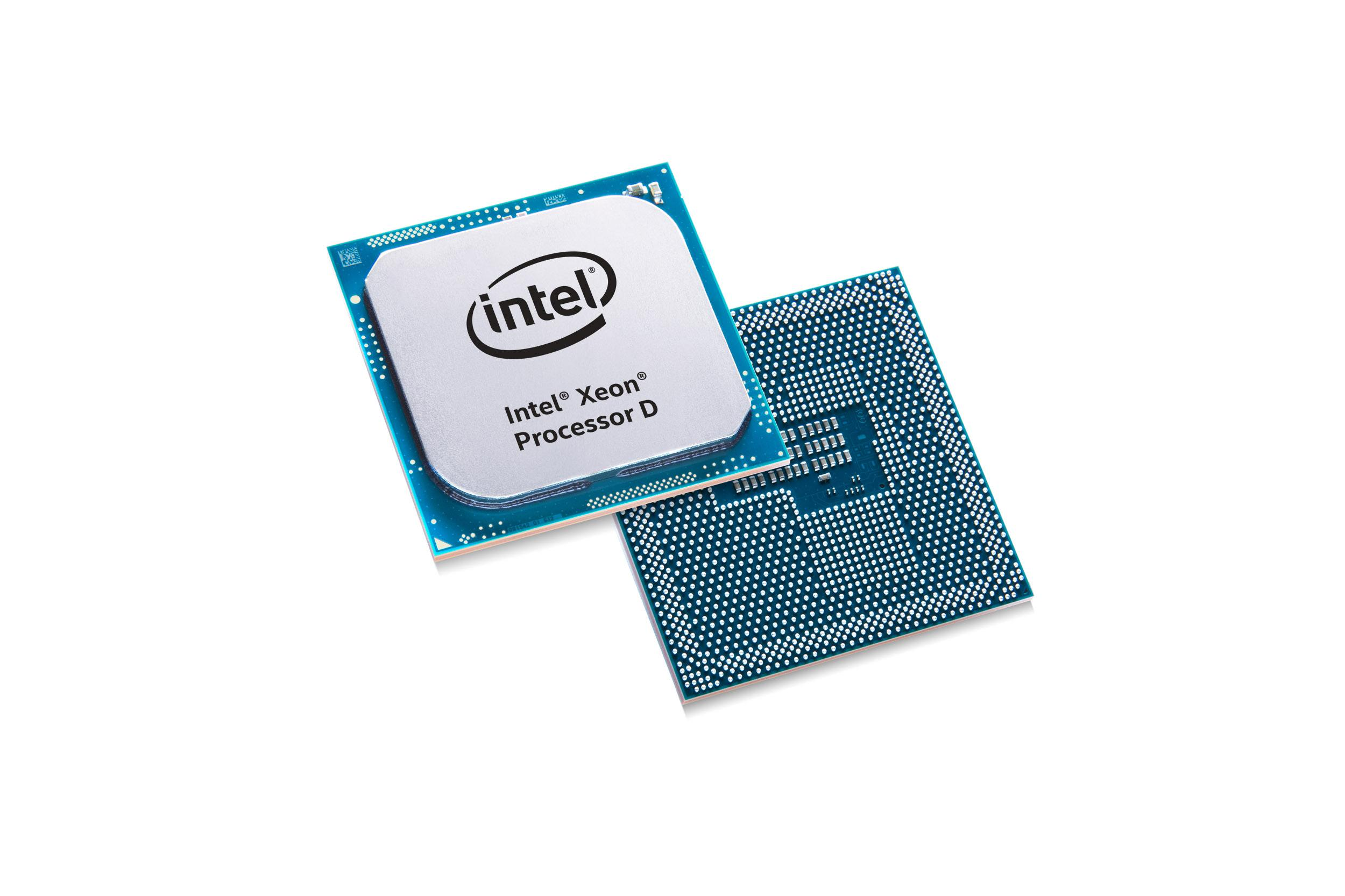 New Networking SKUs for the Intel Xeon processor D-1500 product family allows CoSPs to scale up performance beyond the Intel Atom C3000 product family and securely process and compress traffic at the network edge at rates up to 40 Gbps with Intel QuickAssist technology. (Credit: Intel Corporation)