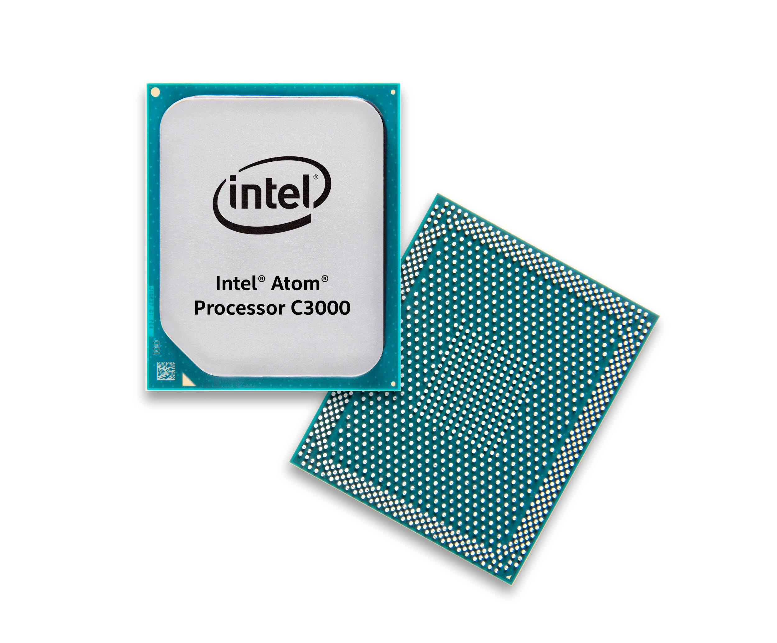 The Intel Atom Processor C3000 product family enables network edge device vendors to reach a wide range of power-performance points and integrates Intel QuickAssist technology for up to 20 Gbps crypto and compression acceleration. (Credit: Intel Corporation)