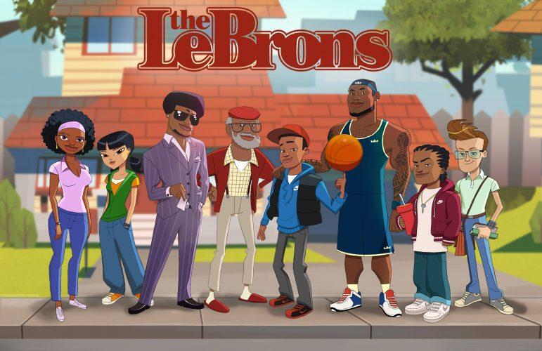 fa7fa88de445 LeBron James Gets Technical with New Animated Series