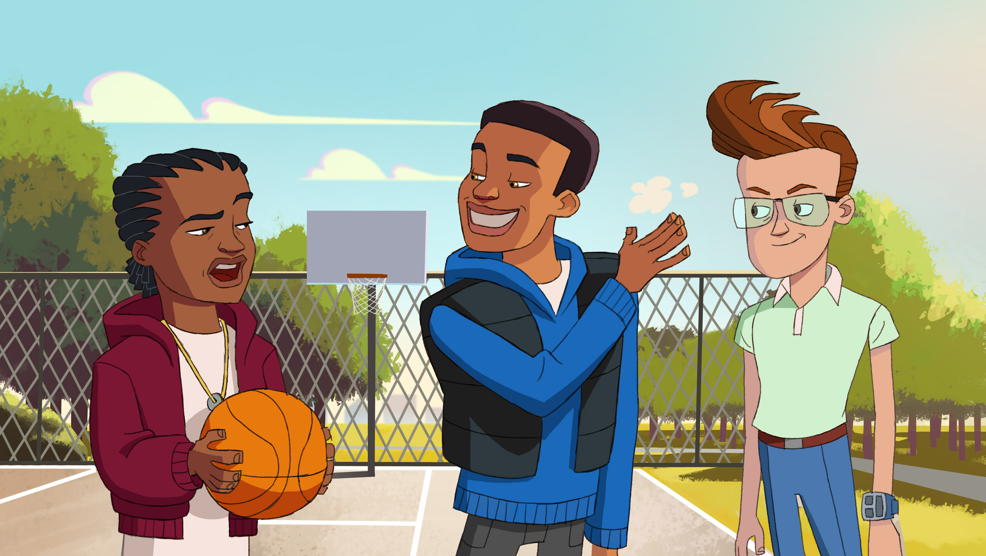 """7af91ab5e31e Each webisode of """"The LeBrons"""" includes positive messages geared to youth."""