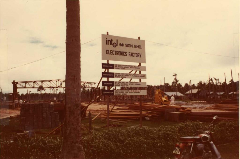 Intel Penang Factory Construction