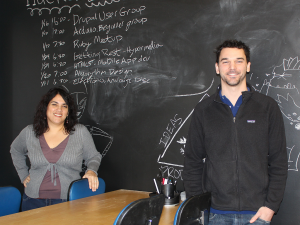 Hacker Lab Sacramento Founders Gina Lujan and Eric Ullrich