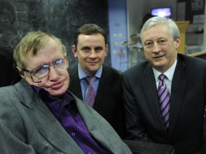 Stephen Hawking David Fleming Martin Curley