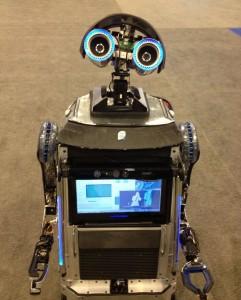 DIY Robot Roams High-Tech Event   Intel Newsroom