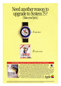 Apple System 7.5 Upgrade ad