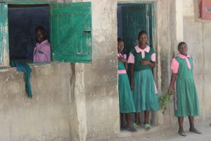 Middle school kids at Chimoi Primary School in Matate, Kenya.