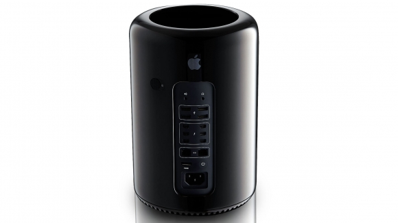 The cylindrical Mac Pro. Image credit: Apple