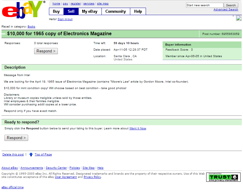 The original eBay