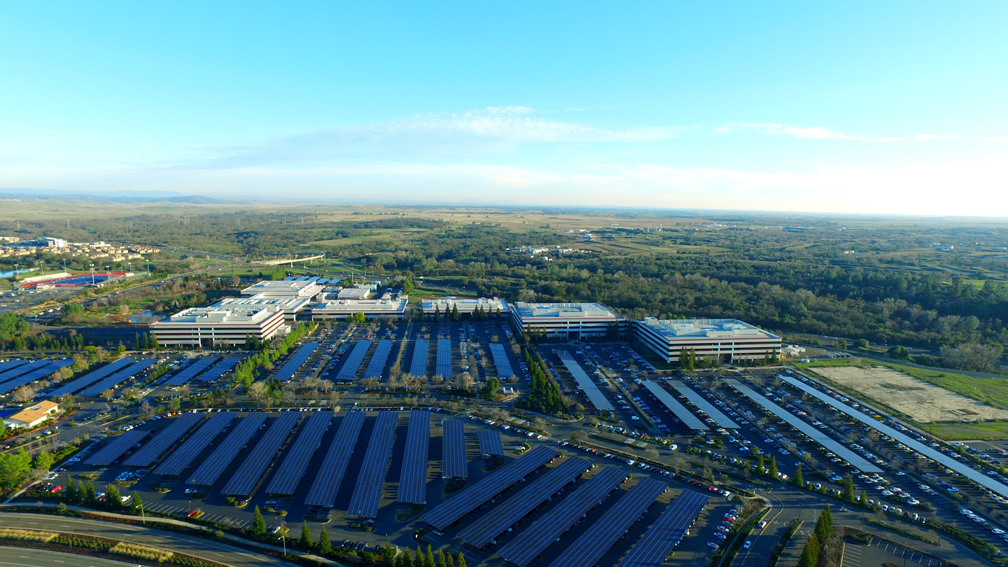 Chip Shot Intel Unveils Largest Corporate Solar Carport