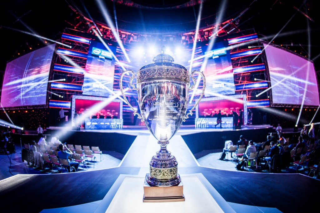 Hundreds of accomplished gamers from around the world will gather in Katowice, Poland, for the 2016 Intel Extreme Masters. The IEM Katowice World Championship in Counter-Strike: Global Offensive, League of Legends and StarCraft II runs March 4-6, 2016. The world's best gamers will compete for the most prestigious titles, trophies and a combined prize pool of $500,000. (CREDIT: ESL)