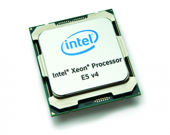 Intel® Xeon® processor E5-2600 v4 CPU front angle view