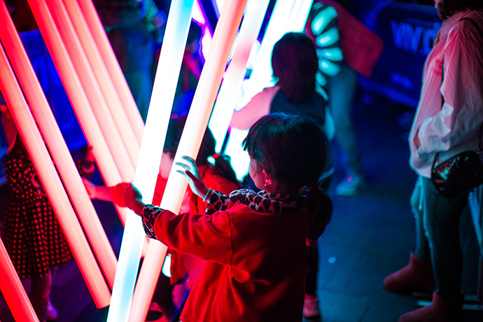 Intel is in its sixth year as a sponsor of Vivid Sydney, one of