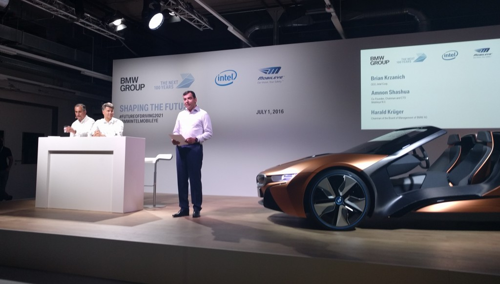 BMW Group, Intel and Mobileye Team Up to Bring Fully ...
