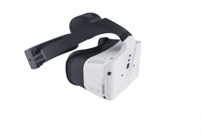 Intel unveiled Project Alloy, a first-generation all-in-one virtual reality solution leveraging Intel RealSense technology, on Tuesday, August 16, 2016. Project Alloy will be offered as an open hardware platform in the second half of 2017. (Credit: Intel Corporation)
