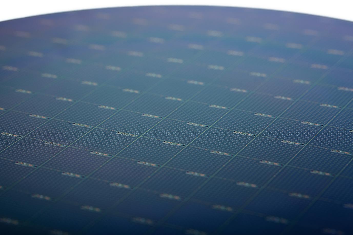 Intel Silicon Photonics Wafer