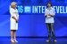Diane M. Bryant, Intel executive vice president and general manager of its Data Center Group, introduces Slater Victoroff, CEO and founder of Indico, at the 2016 Intel Developer Forum in San Francisco on Wednesday, Aug. 17, 2016. During her keynote address, Bryant and Victoroff spoke of the challenges and different approaches to machine learning. (Credit: Intel Corporation)
