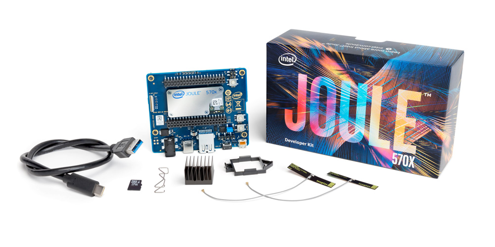The Intel Joule developer kit, a high-performance platform for Internet of Things developers, entrepreneurs and established enterprises. (Credit: Intel Corporation)