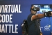 Mahinder Gangi Reddy, of VMware Inc., enjoys a virtual reality game in the Virtual Code Battle VR Arena that uses Intel Software Development Tools at the 2016 Intel Developer Forum in San Francisco on Wednesday, Aug. 17, 2016. (Credit: Intel Corporation)