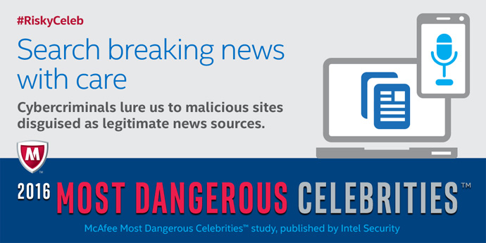 Most Dangerous Celebrities Infographic