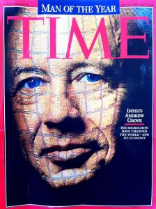 """Time 1997 """"Man of the Year"""" Andy Grove,"""