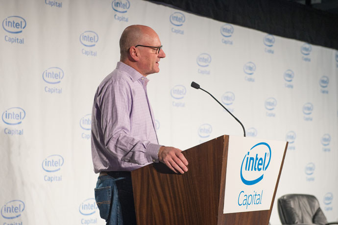 Intel Capital president Wendell Brooks announces $38 million of