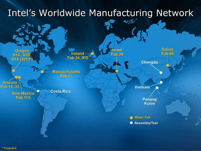 Moore's Law Around the World in Bricks and Mortar | Intel Newsroom