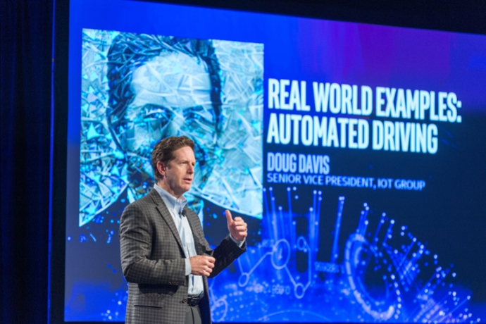 Doug Davis Keynote at Intel 2016 AI Day: Real World Examples: Automated Driving