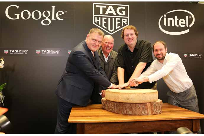 TAG Heuer, Google and Intel announce a collaboration to launch a