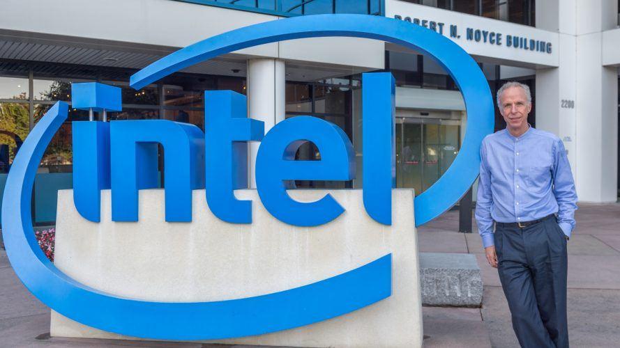Tom Lantzsch at the Intel Corporation headquarters in Santa Clara, California.