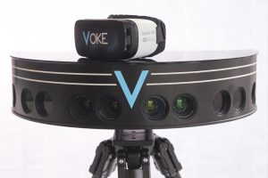 VOKE will use its technology to make highlights from four NFL games available in virtual reality. (Credit: VOKE)