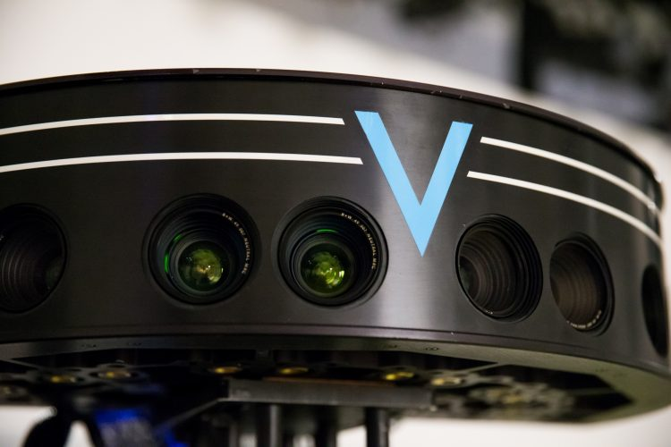 VOKE's stereoscopic lenses and panoramic camera design creates the TrueVR™ experience throughout the entire field of view. Intel Corporation announced Nov. 3, 2016, that it was acquiring VOKE, a leader in bringing live, virtual reality experiences to audiences. (Credit: Intel Corporation)