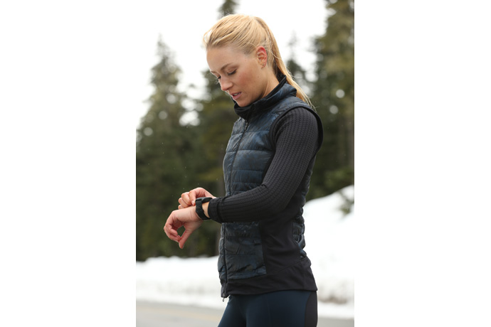 New Balance Run IQ with Intel Inside® enables runners to track