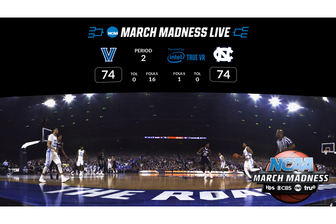 A courtside view of the tournament through the NCAA March Madnes