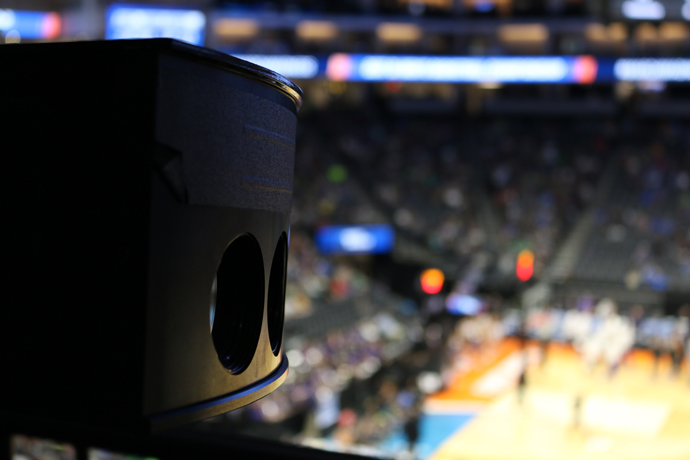 Intel True VR cameras capture footage of upcoming basketball gam