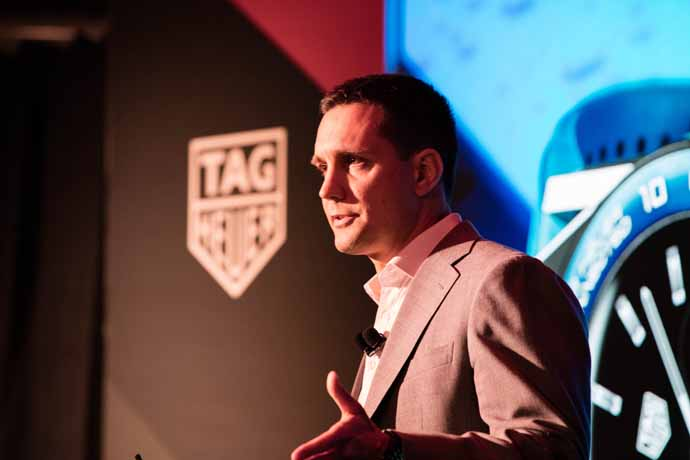 Tom Foldesi, TAG Heuer vice president of connected products and
